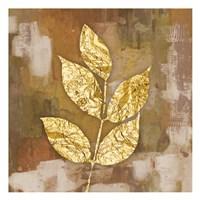 Gold Leaves 1 Fine Art Print