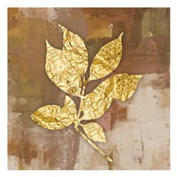 Gold Leaves 2 Fine Art Print