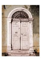 Toned Vintage Door Fine Art Print