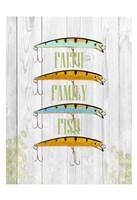 Faith Family Fish Fine Art Print
