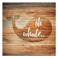Oh Whale Fine Art Print