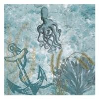 Deep Ocean Blue Fine Art Print