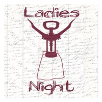 Ladies Night Fine Art Print