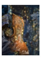 Guitar Lights Fine Art Print