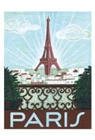 Paris View Fine Art Print