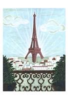 Paris View 2 Fine Art Print