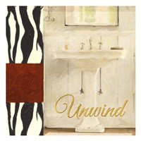 Unwind Bath Fine Art Print
