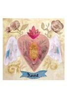 Home Heart Fine Art Print
