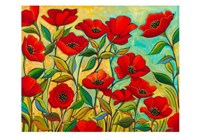 Poppy Garden Fine Art Print