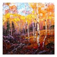 October Glory Fine Art Print