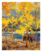 Fall Grazing Fine Art Print