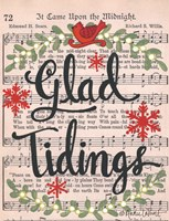 Glad Tidings Fine Art Print