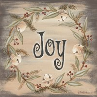 Jingle Joy Wreath Fine Art Print