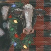 Festive Cow Fine Art Print