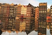 Amsterdam Houses Fine Art Print