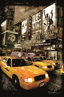 Taxi Fine Art Print
