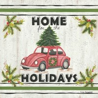 VW Holiday Fine Art Print