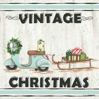 Vintage Christmas Fine Art Print