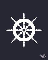 Nautical Ocean 1 Fine Art Print