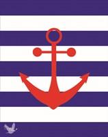 Nautical Stripes 3 Fine Art Print