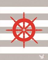 Nautical Stripes 1 Fine Art Print