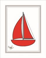 Nautical Stripes 2 Fine Art Print