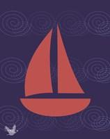 Nautical Waves 2 Fine Art Print