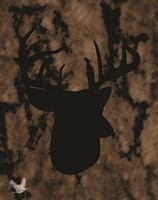 Woodland Buck 1 Fine Art Print