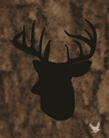 Woodland Buck 3 Fine Art Print