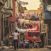 Streets of Istanbul Fine Art Print