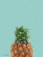 Blue Pineapple Fine Art Print