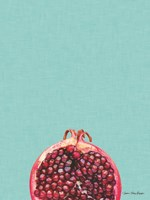 Blue Pomegranate Fine Art Print