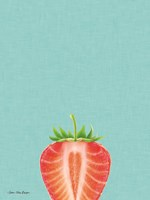 Blue Strawberry Fine Art Print