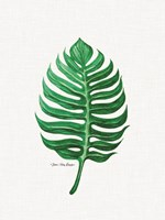 Watercolor Leaf Fine Art Print