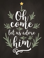 Oh Come Let Us Adore Him Fine Art Print