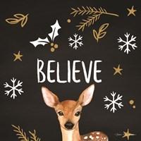 Believe Deer Fine Art Print