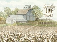 In Everything Give Thanks Fine Art Print
