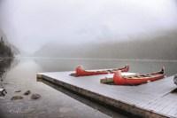 Winter Canoes Fine Art Print