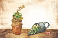 Vintage Planting Scoop Fine Art Print