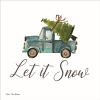 Let It Snow Fine Art Print