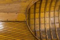 Vintage wooden Canoe Detail Fine Art Print