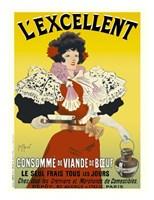 L'excellent, Consomme de Viande de Boeuf Fine Art Print