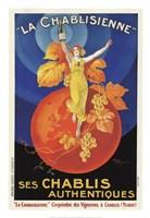 La Chablisienne Ses Chablis Authentiques, 1926 Fine Art Print