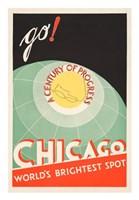 Chicago, World's Brightest Spot Fine Art Print