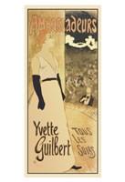 Ambassadeurs - Yvette Guilbert Tous les Soirs Fine Art Print