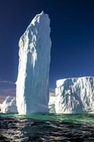 Ice Monolith, Antarctica Fine Art Print