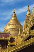 Shwezigon Pagoda, Bagan, Mandalay Region, Myanmar Fine Art Print