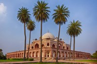 Exterior view of Humayun's Tomb in New Delhi, India Fine Art Print