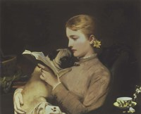 Blond and Brunette, 1879 Fine Art Print