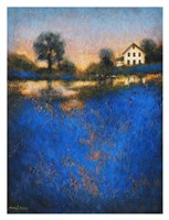 Blue Fields Fine Art Print